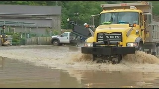 Area roadways closed due to flooding