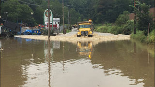 Plans implenented to prevent flooding on Streets Run Road