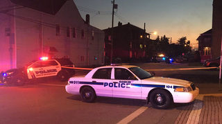 Police searching for shooter after victim drives to gas station