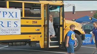 Pack the Bus event collects school supplies and donations