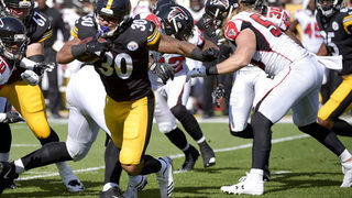 Rookie RB Conner stars in Steelers