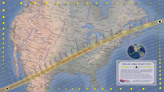 2024 eclipse view will be better from other U.S. cities