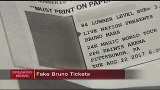 Concertgoers devastated to learn Bruno Mars tickets are fake