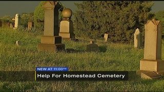 Help needed for Homestead cemetery