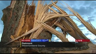 Parts of Westmoreland County hit hard by storms