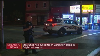 Police investigating after fatal shooting in Brighton Heights