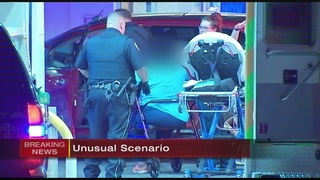 Spike strips used on SUV after driver suffers medical emergency