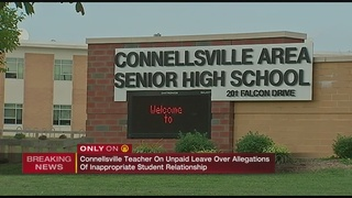 Connellsville teacher on leave after alleged misconduct with former student