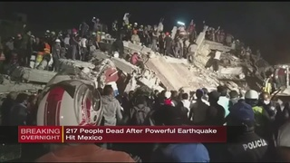 Death toll rises to more than 200 after Mexico earthquake