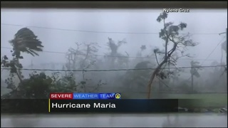 Hurricane Maria makes direct hit on Puerto Rico