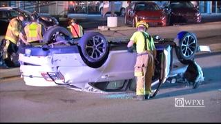 RAW VIDEO: Perry Highway dealership crash