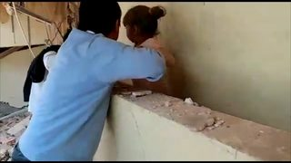 RAW VIDEO: Rescues at collapsed school in Mexico