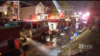 RAW VIDEO: Summit Ave house fire in Westmoreland