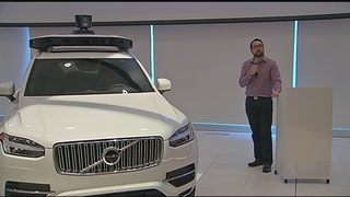 Uber unveils 2nd generation of self-driving cars