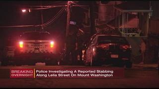 Man stabbed in Mount Washington