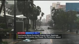 Puerto Rico powerless after Hurricane Maria
