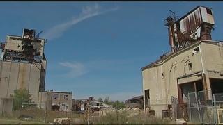 Former Jeannette glass plant site undergoing heavy construction
