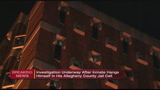 Inmate hangs self in Allegheny County Jail