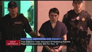 Trial for teen in Franklin Regional stabbing case set to begin in November