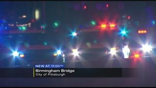 Man shot while driving across Birmingham Bridge