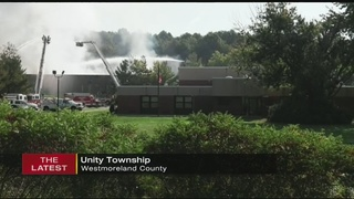 Fire causes damage to Unity Township municipal complex