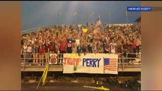 HS football fans upset with sign at W Va. game, district issues apology