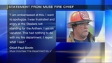 Fire chief's racial slur directed at Tomlin upsets firefighters, township leaders