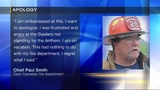 Fire chief removed from post after racial slur directed at Tomlin