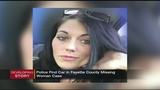 State police find missing Fayette woman's SUV