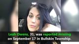VIDEO: Volunteers search for Leah Owens