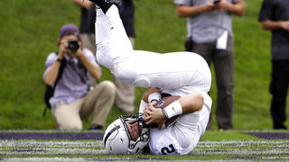 Penn State up to 2 behind unanimous No. 1 Alabama