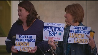 Group hired to manage food services at Brentwood SD; district employees