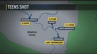 Outbreak of teen violence after 4 separate shootings