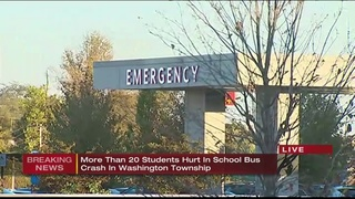 7 students transported after school bus crash in Westmoreland Co.