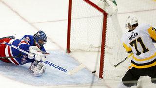 Crosby, Malkin lift Pens over struggling Rangers 5-4 in OT