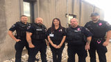 Photos: N. Versailles police show support for dispatcher