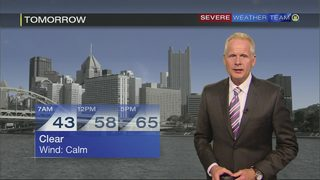 Chilly morning ahead Wednesday (10/17/17)