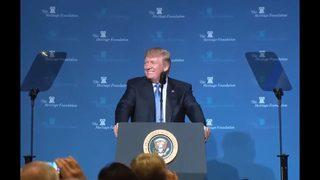 Trump presses tax reform as Senate begins debate on GOP budget outline