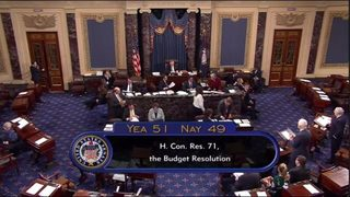 Senate approves budget outline, as GOP takes next step for tax reform