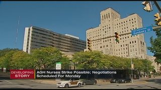 Negotiations between nurses, health network coming down to wire