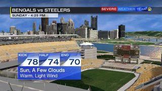 Steelers vs. Bengals forecast (10/22/17)