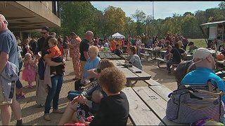 Plum festival raises money for 2-year-old