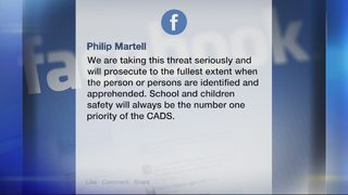 Police investigating threat at Connellsville school