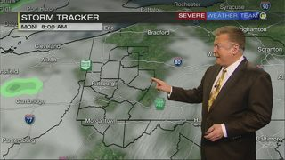 Wet weather expected Monday (10/22/17)