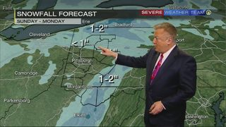 Severe Weather Team 11 tracking potential snow showers