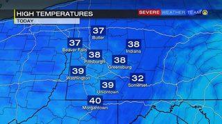 Sunday High Temperatures (11/19/17)