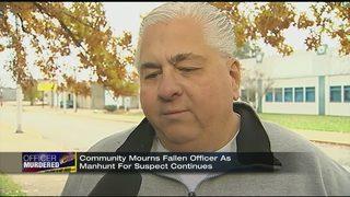 Community still reeling after Officer Brian Shaw