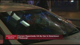Police called to scene of pedestrian accident in Downtown Pittsburgh