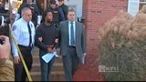 RAW: Rahmael Holt leaves magistrate's office in New Kensington