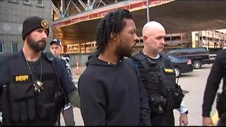 RAW: Rahmael Holt escorted out of Pittsburgh Municipal Court